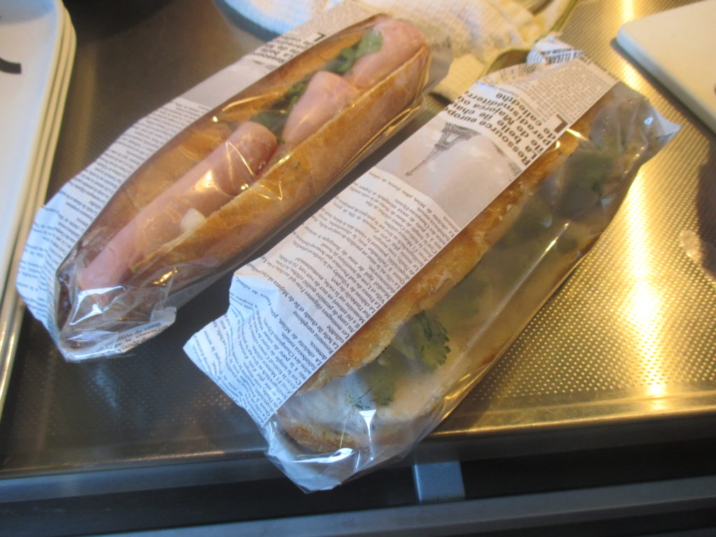ベトナムのサンドイッチ「バインミー」です