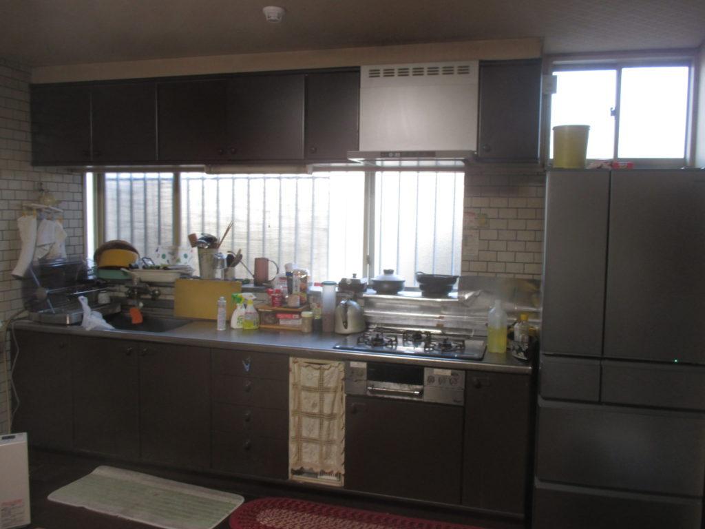 約30年間お世話になったクリナップのキッチンです